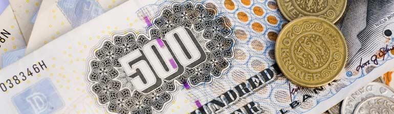 Hvad koster det at låne 100.000 kroner