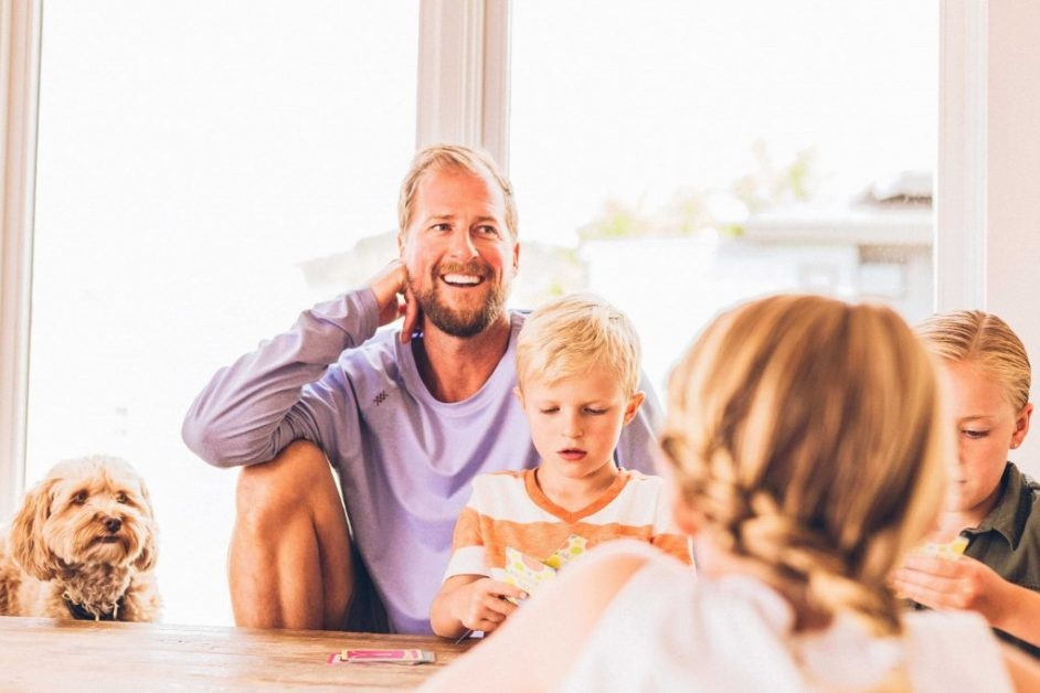 far i bolig med børn